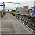 SJ8398 : Leaving Salford Central by Gerald England
