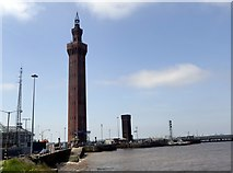 TA2711 : Grimsby Dock Tower by Graham Hogg