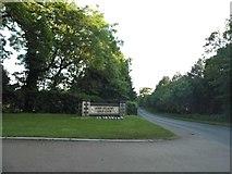 TL2147 : The entrance to John O'Gaunt golf club by David Howard