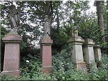 TQ3386 : Abney Park Cemetery, Stoke Newington High Street N16 by Robin Sones