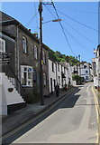 SX2553 : Up West Looe Hill, Looe by Jaggery