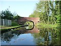SJ9401 : Moat House Bridge, from the north-east by Christine Johnstone