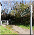 SN4401 : Cwm Capel this way, Burry Port by Jaggery