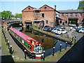 SO9198 : Narrowboat in the Shropshire Union Wharf, Wolverhampton by Christine Johnstone