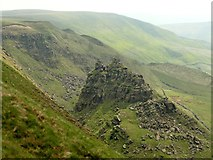 SK1491 : The Tower at Alport Castles by Graham Hogg