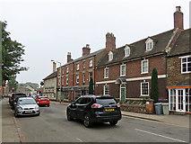 SK8508 : Oakham High Street by John Sutton