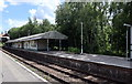 TQ5434 : Elridge Station Platform by PAUL FARMER