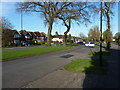 SP0981 : Junction of 'Old' Brook Lane with the newer road by Richard Law