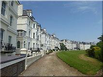 TR2135 : Clifton Crescent, Folkestone by Marathon