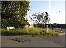 SJ9106 : Brewood Road at the corner of Stafford Road by David Howard