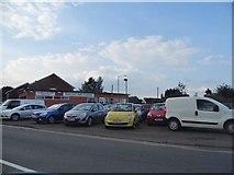 SP0762 : Spernal Ash Garage, Studley by David Howard