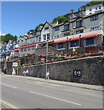 SX2553 : Rivercroft Hotel & Apartments, East Looe by Jaggery
