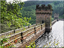 SK1789 : Derwent - The 'Dambusters' Dam by David Dixon