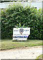 TM3875 : East View Dog Grooming Parlour sign by Adrian Cable