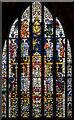 TA0489 : East window, St Mary's church, Scarborough by Julian P Guffogg