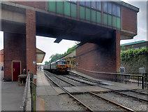 SD8010 : Passengers' Bridge, Bolton Street Station by David Dixon