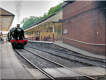 SD8010 : East Lancashire Railway, Bolton Street Station by David Dixon