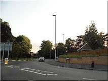 SO9182 : Roundabout on Ham Lane, Pedmore by David Howard
