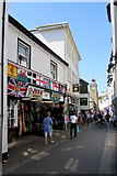 SX2553 : Joke Shop & The Shell Shop, East Looe by Jaggery
