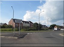 SP2153 : Roundabout on the A4390, Stratford on Avon by David Howard