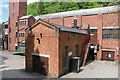 SK2857 : Via Gellia (Hollins) Mill by Chris Allen