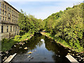 SD7915 : River Irwell at Brooksbottom by David Dixon