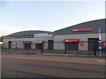 SO9297 : Retail units on Bilston Road, Monmore Green by David Howard