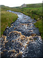 NY9606 : Arkle Beck from Dale Head New Bridge by Andy Waddington