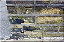 SE0724 : Benchmark on wall of #188 Rochdale Road (Willow Gardens) by Roger Templeman