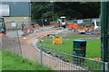 SO2800 : Construction of new path, Pontypool Park by M J Roscoe