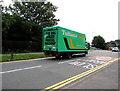 ST3091 : Tuffnells Parcels Express lorry, Almond Drive, Malpas, Newport by Jaggery