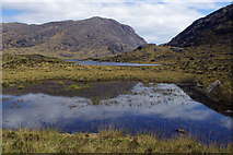 NG4820 : Small lochan by Loch Coruisk by Ian Taylor