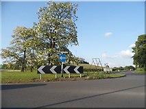 SO8893 : Roundabout on Stourbridge Road, Stirchley by David Howard