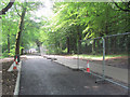 SP8908 : The New Road Layout for the Twin Exit Gates at Wendover Woods by Chris Reynolds
