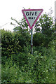 TM3775 : Roadsign on Grange Road by Adrian Cable