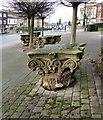 SJ8989 : Four Corinthian capitals by Gerald England