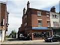 TM5593 : Site of the Swan Inn in which Oliver Cromwell had his H.Q. by Adrian S Pye