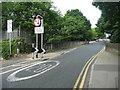 SE2537 : Railway bridge, Butcher Hill, West Park, Leeds by Humphrey Bolton