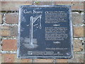 TM5594 : Informative plaque for Cart Score (Red Herring Trail) by Adrian S Pye