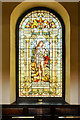SJ8398 : St Ann's Church, The Jubilee Window by David Dixon