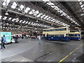 SO9991 : Inside West Bromwich Bus Depot (1) by David Hillas