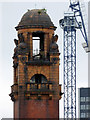 SJ8497 : London Road Fire Station tower by Thomas Nugent