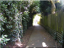 SO9096 : Coton Road Footpath by Gordon Griffiths