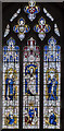 SE9364 : Stained glass window, St Mary's church, Sledmere by Julian P Guffogg