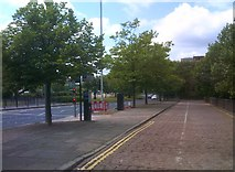 SO9198 : Rind Road Scene by Gordon Griffiths