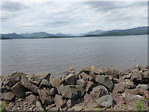 NS4187 : View towards Ben Lomand (in distance right of centre) by Stanley Howe