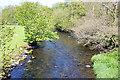 SH4659 : The Afon Gwyrfai from Pont Faen by Jeff Buck