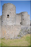 SH5831 : Harlech Castle by Philip Halling