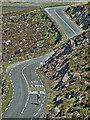 Q5006 : Connor Hill Road from Pedlars Lough by Mick Garratt