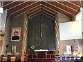 SJ8444 : St Andrew's Church, Westlands (interior) by Jonathan Hutchins